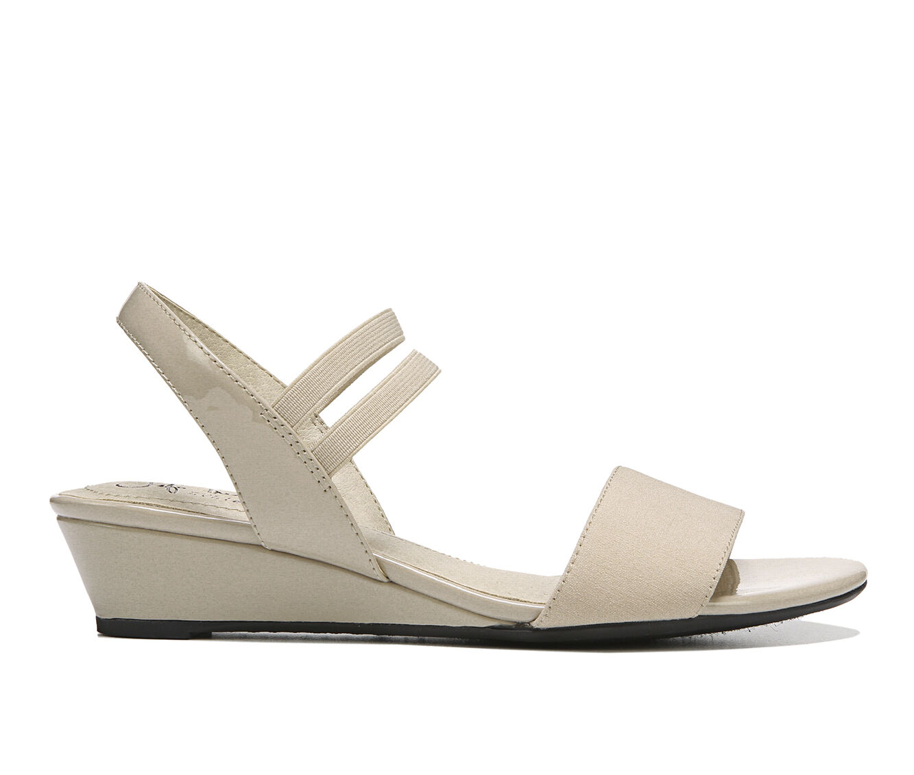 Women's LifeStride Yolo Wedge Sandals Tender Taupe