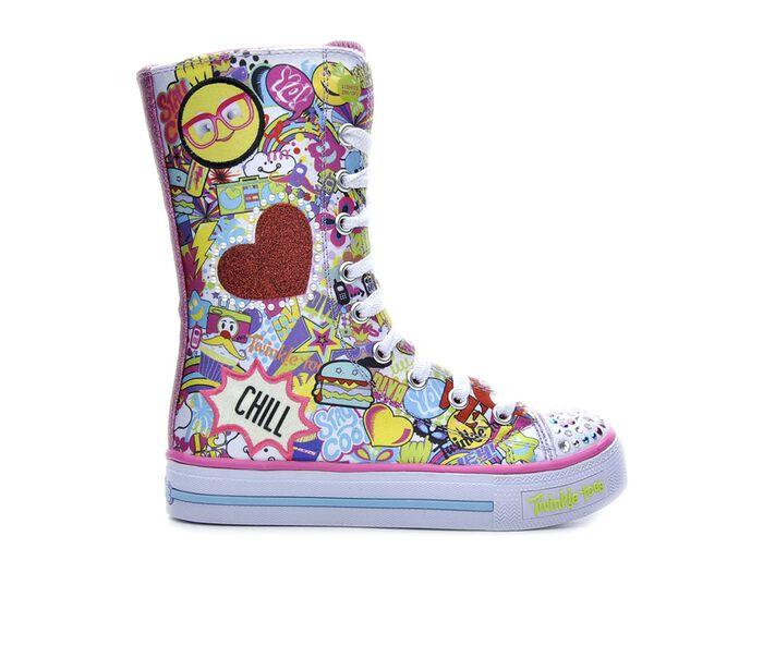 Girls' Skechers Chillin Dayz 10.5-4 Sneaker Boots