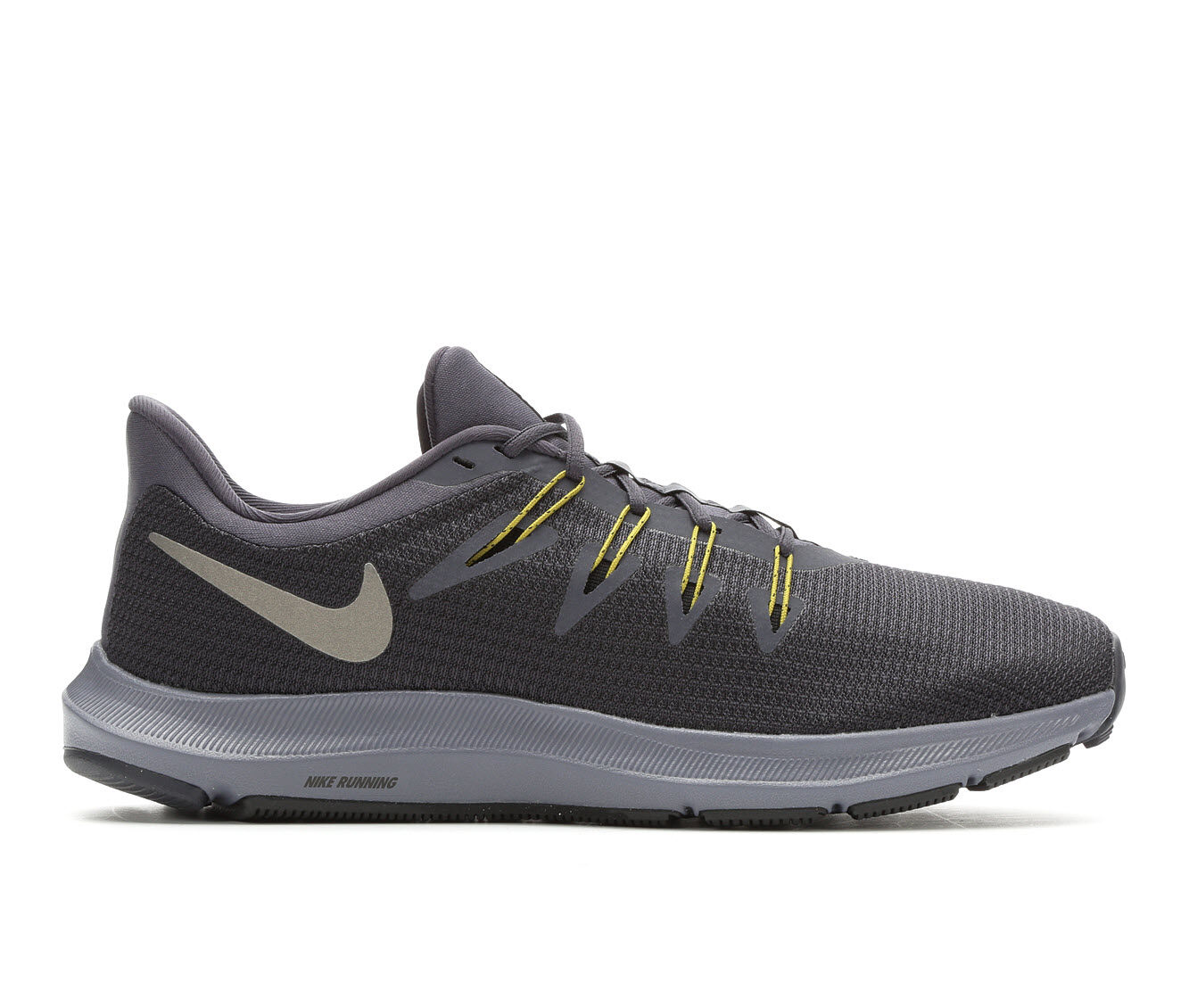 Men's Nike Quest Running Shoes Gry/Blu/Grn 006