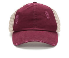 0f62e23234 David and Young Washed Distressed Trucker Hat