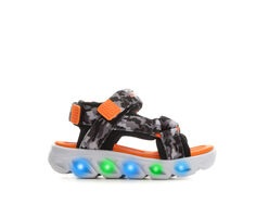 Boys' Skechers Toddler Hypno-Splash Camo Light-Up Sandals