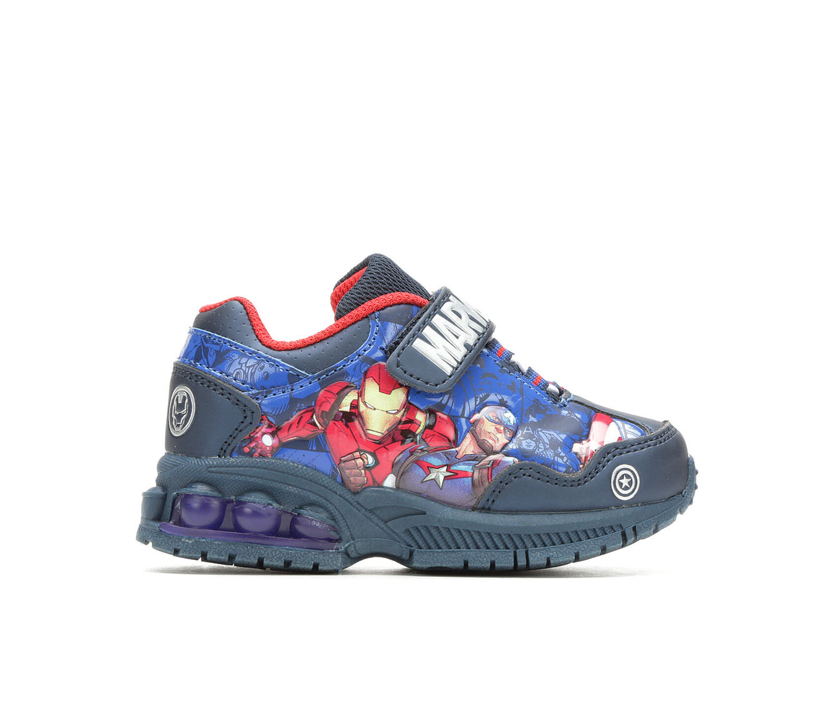 separation shoes 54db5 f5ea5 ... Little Kid Avengers 5 Light-Up Sneakers. Previous