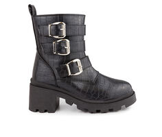 Women's Sugar Filo Platform Moto Boots