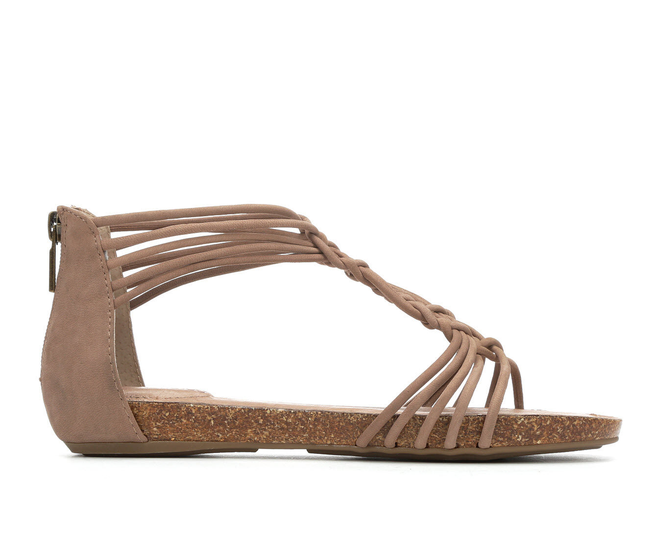Women's Me Too Cali Gladiator Sandals Rosewood