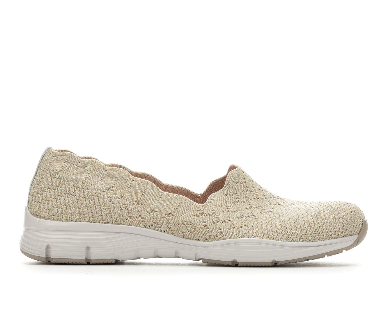 Women's Skechers Seager Stat 49481 Slip-Ons Natural