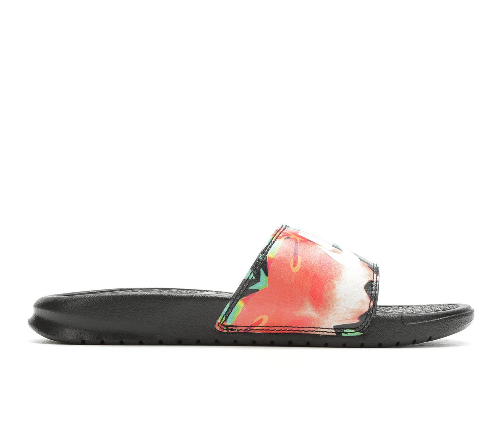1a6113f2d Women's Nike Benassi JDI Print Sport Slides | Shoe Carnival