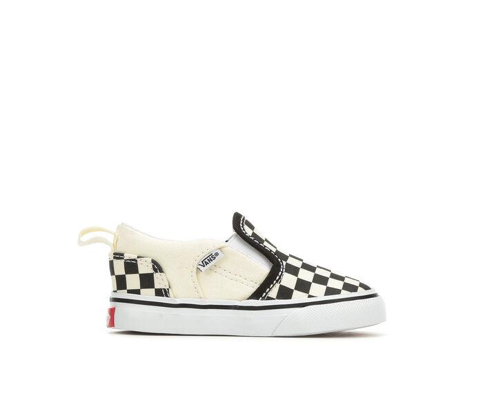 Kids' Vans Infant & Toddler Asher V Slip-On Skate Shoes