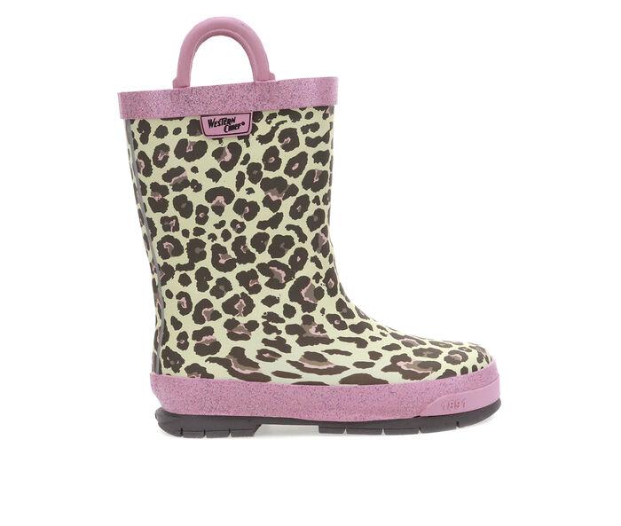 Girls' Western Chief Toddler Sweet Cheetah Rain Boots