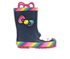Girls' Western Chief Little Kid & Big Kid Hello Kitty Rainy Bow Rain Boots