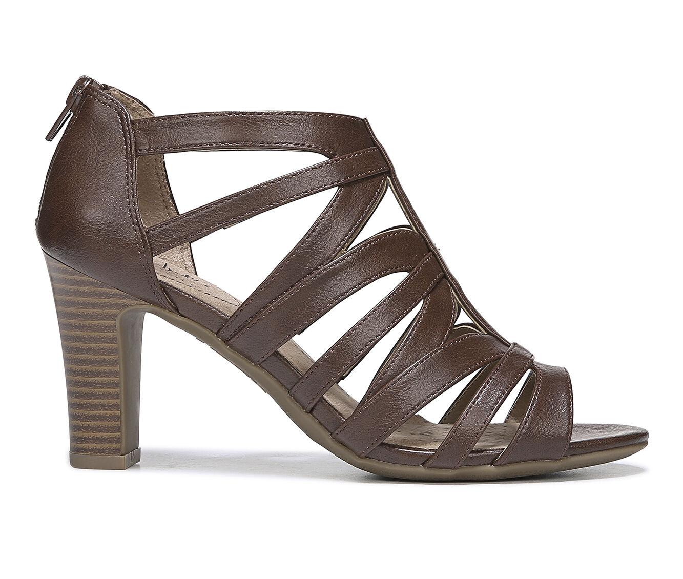 Women's LifeStride Carter Dress Sandals Dark Tan