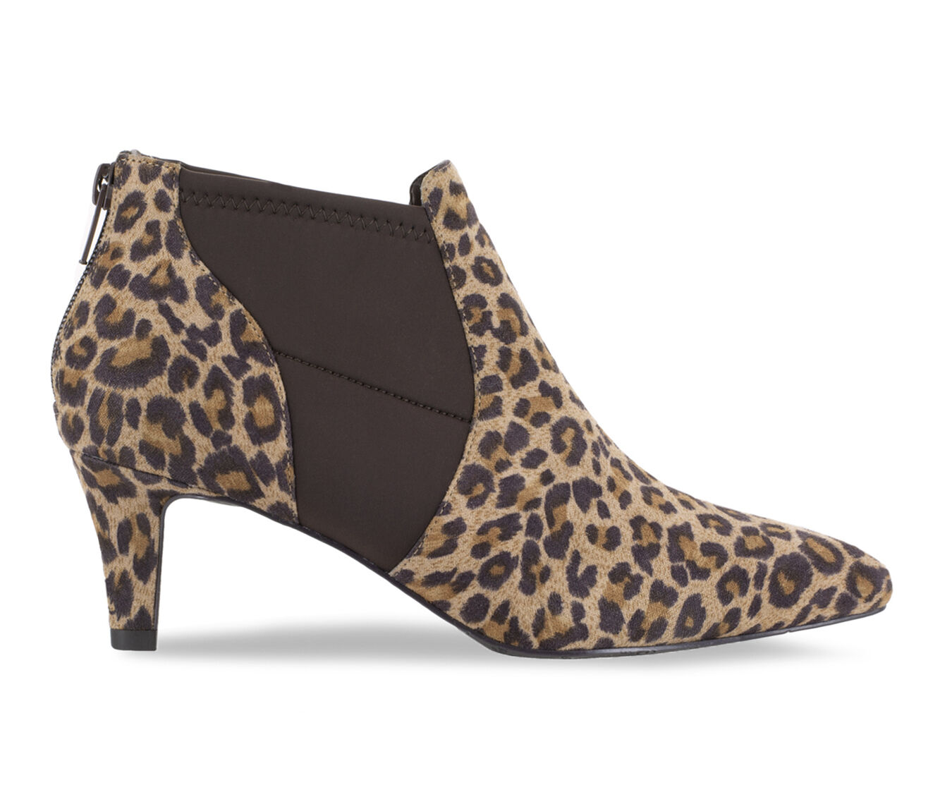a huge selection of Women's Easy Street Saint Booties Leopard Suede