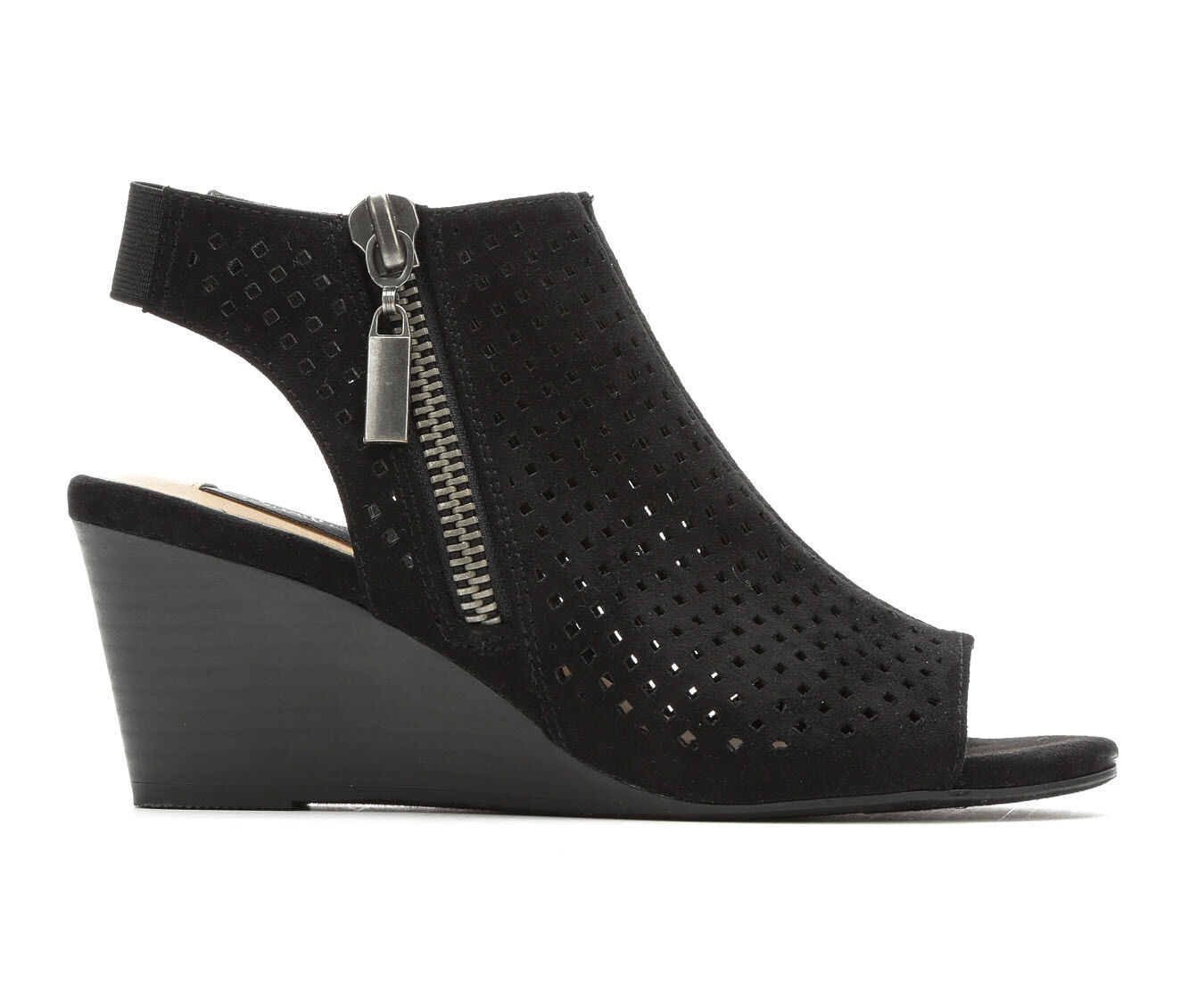 limited time Women's David Aaron Hannah Wedges Black
