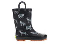 Boys' Western Chief Little Kid Woodland Plaid Rain Boots