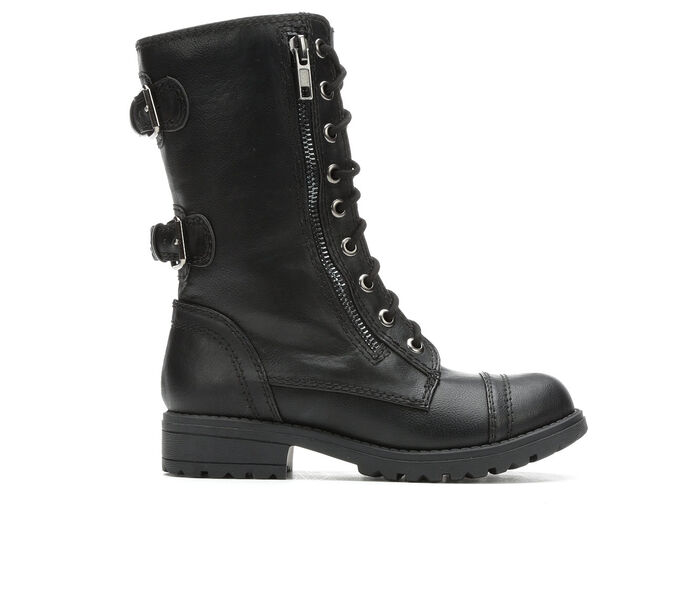 Girls' Unr8ed Little Kid & Big Kid Dome Combat Boots