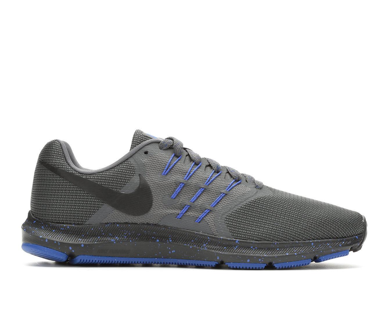 Men's Nike Swift SE Running Shoes Gry/Blk/Blu