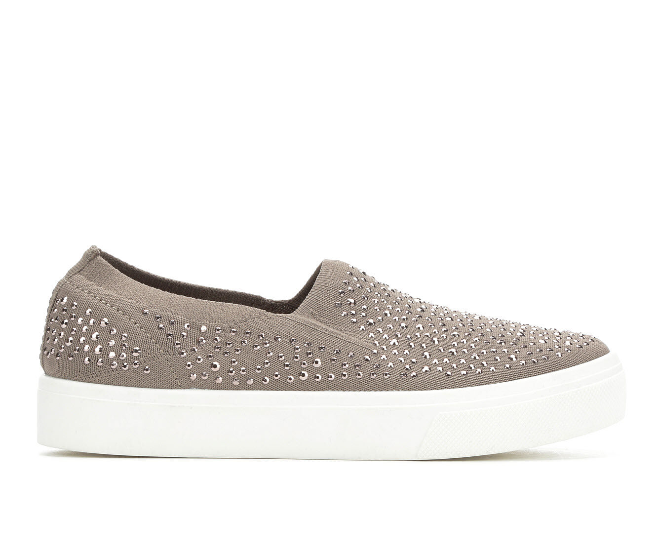 Women's Skecher Street Studded Affair Sneakers Taupe