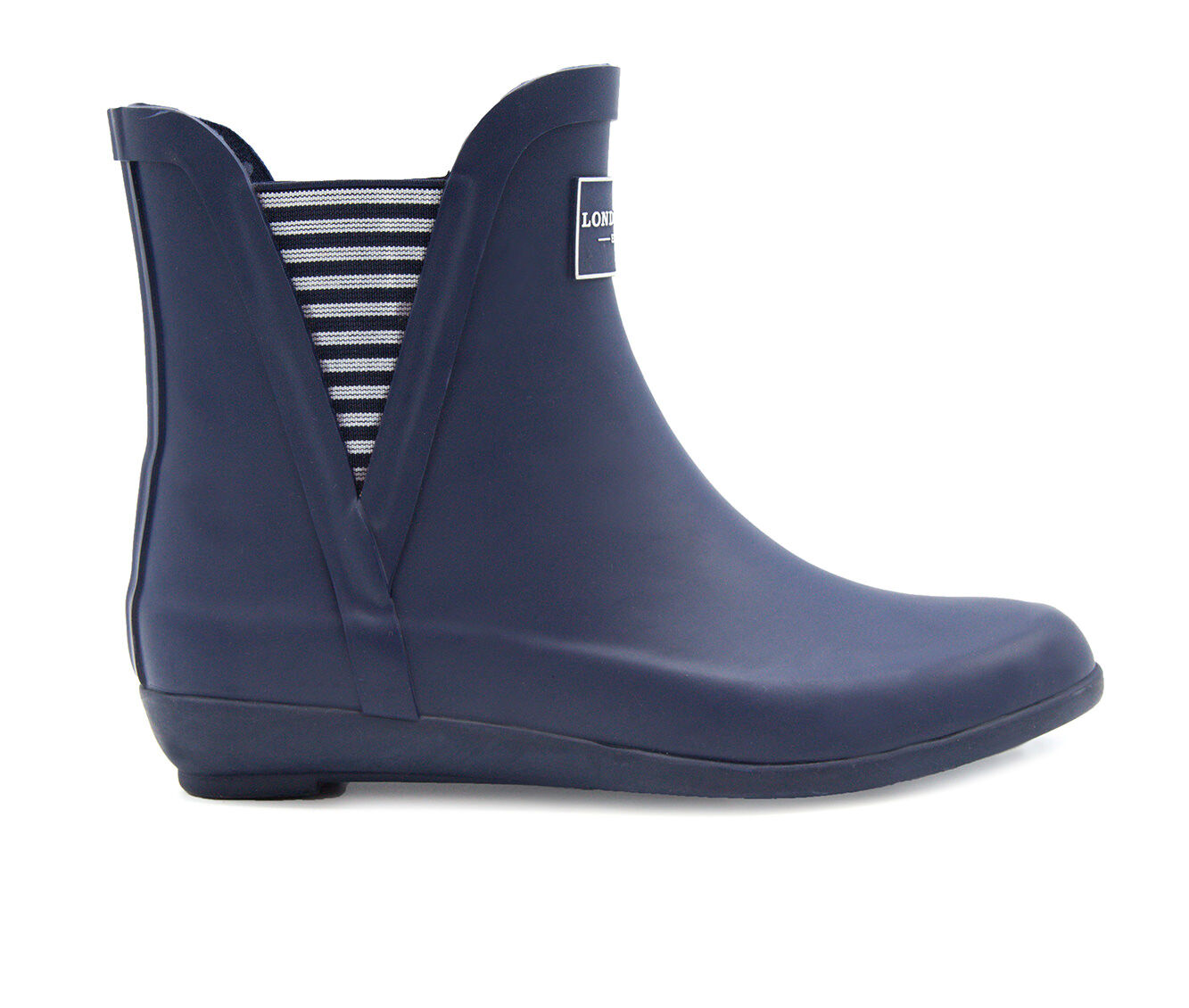 Women's London Fog Piccadilly Rain Boots Navy