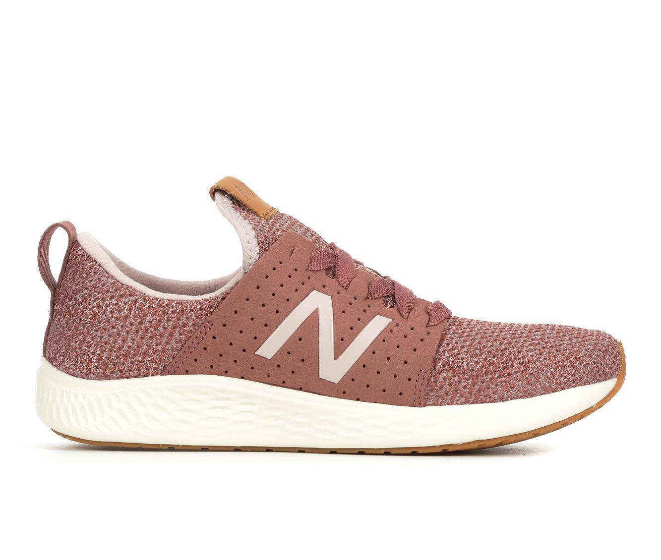 Women's New Balance Fresh Foam Sport Sneakers Pink/White
