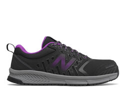 Women's New Balance 412 Alloy Toe Slip Resistant Shoes