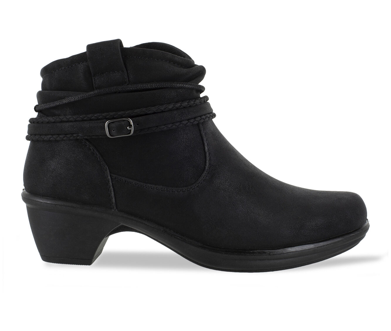 purchase coupon Women's Easy Street Wrangle Booties Black