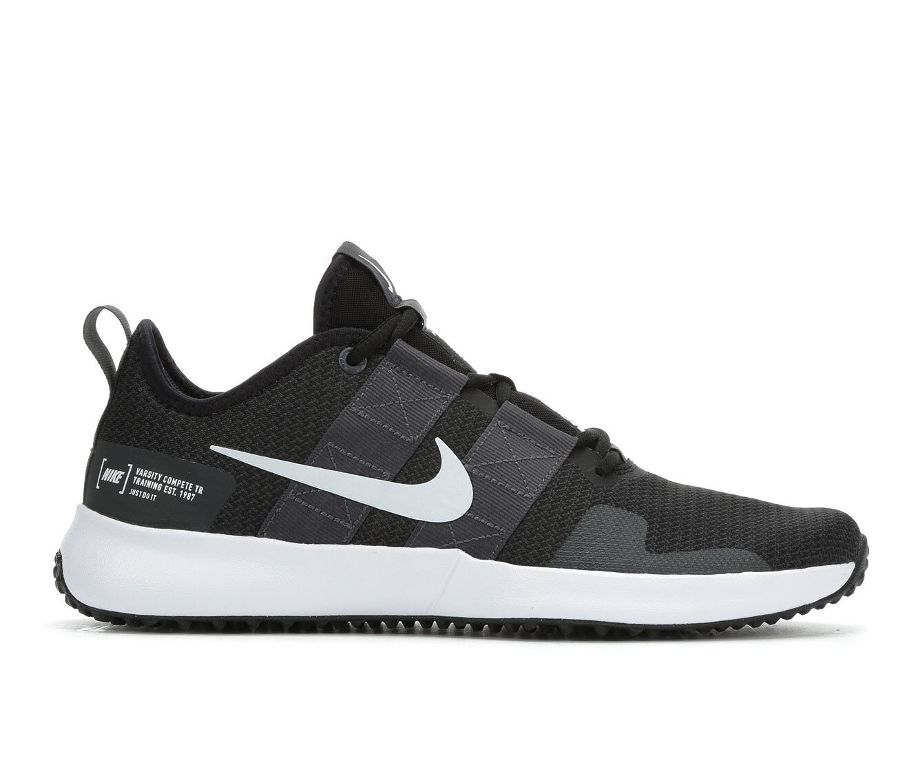 Men's Nike Varsity Compete TR 2 Training Shoes Blk/Gry/Wht