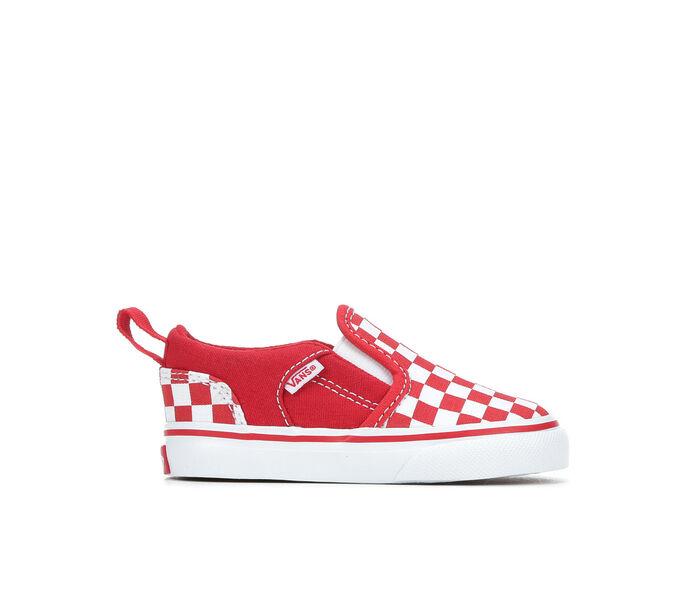 Kids' Vans Infant & Toddler Asher V Slip-On Skate Shoes