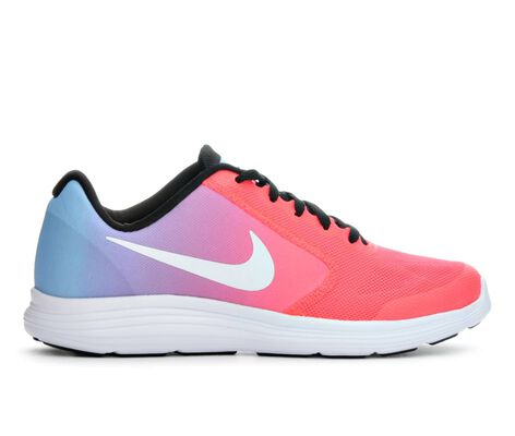 Girls' Nike Revolution 3 3.5-7 Running Shoes