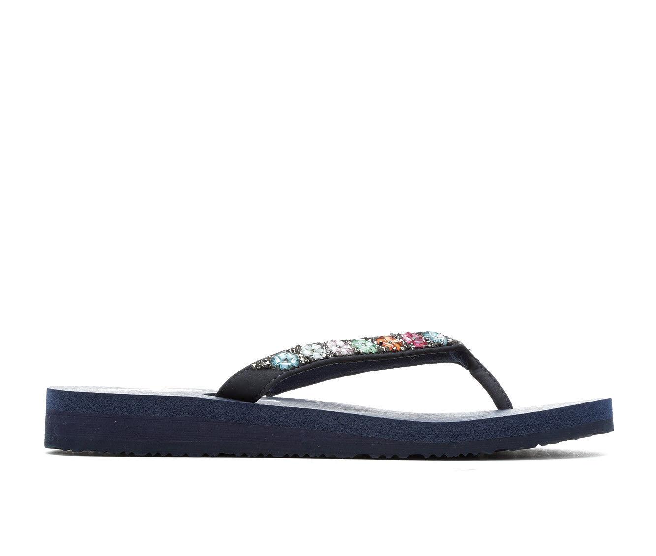 Women's Skechers Cali Daisy Delight 31559 Sandals Navy