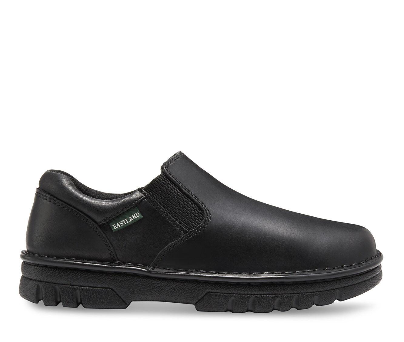 Quite Brilliant Men's Eastland Newport S/O Slip-On Shoes Black