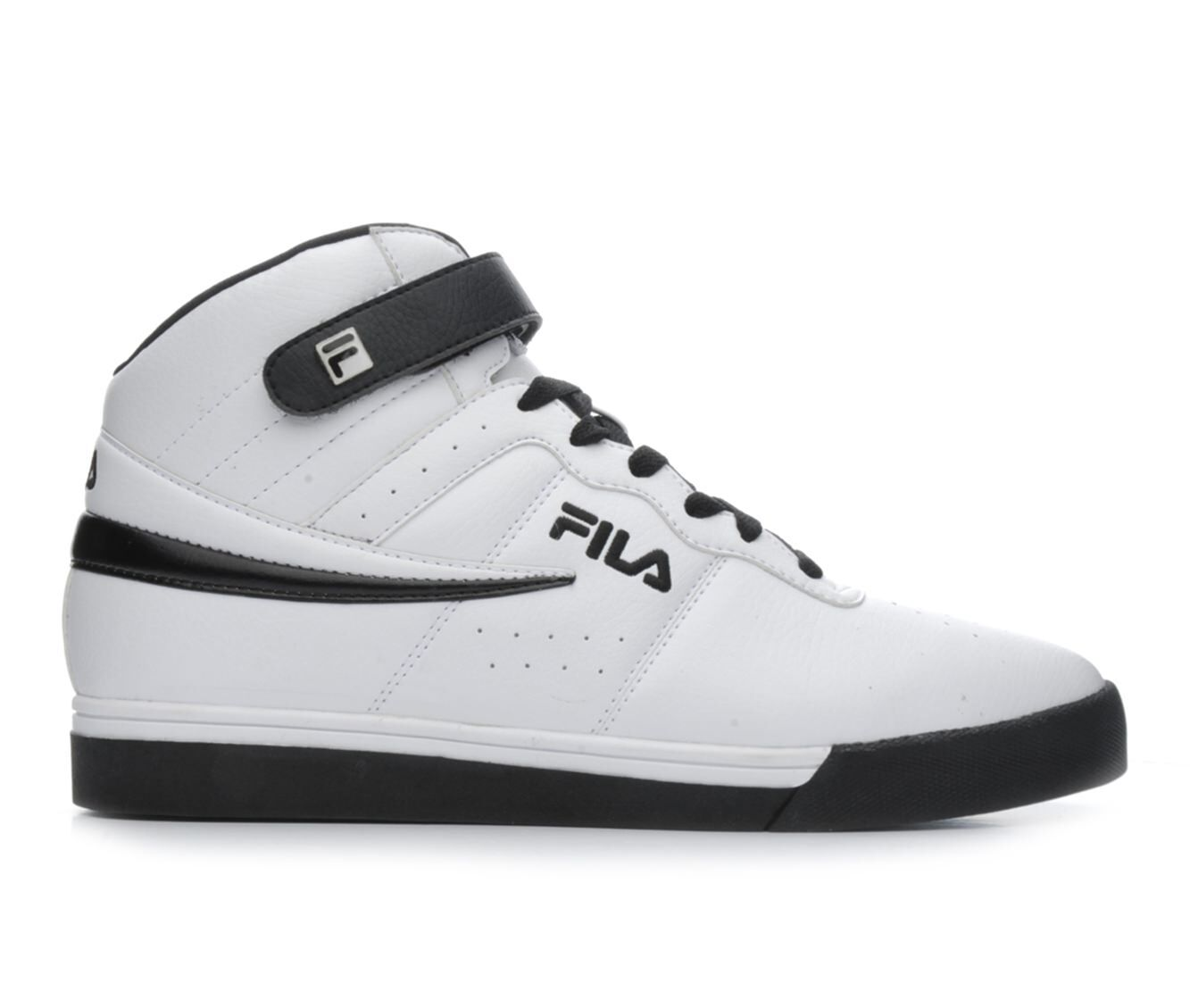Men's Fila Vulc 13 Mid Plus Retro Sneakers White/Black