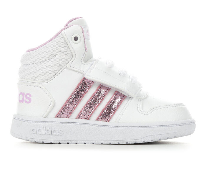 Kids' Adidas Infant & Toddler Hoops Mid 2 Retro Basketball Sneakers