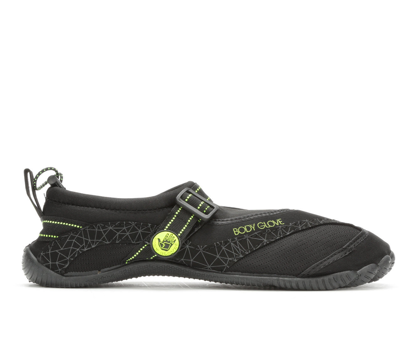 Men's Body Glove Realm-Mens Outdoor Sandals Blk/Neon Yellow