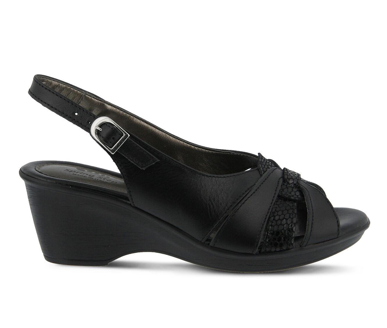 Wholesale Women's SPRING STEP Adorable Dress Sandals Black