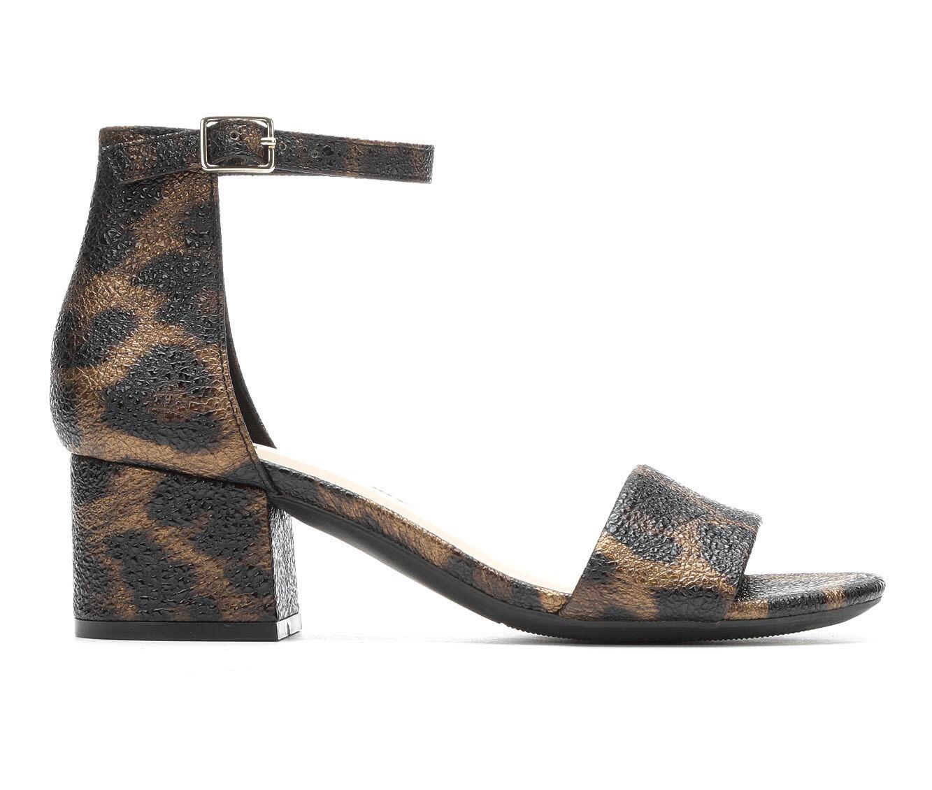 Women's Rampage Maddie Dress Sandals Leopard