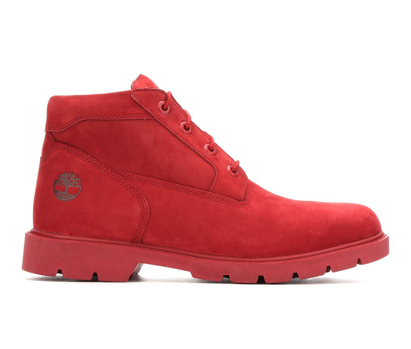 Men's Timberland Basic Chukka Boots Red