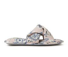 Dearfoams Angela Paisley Twist Slide Slippers