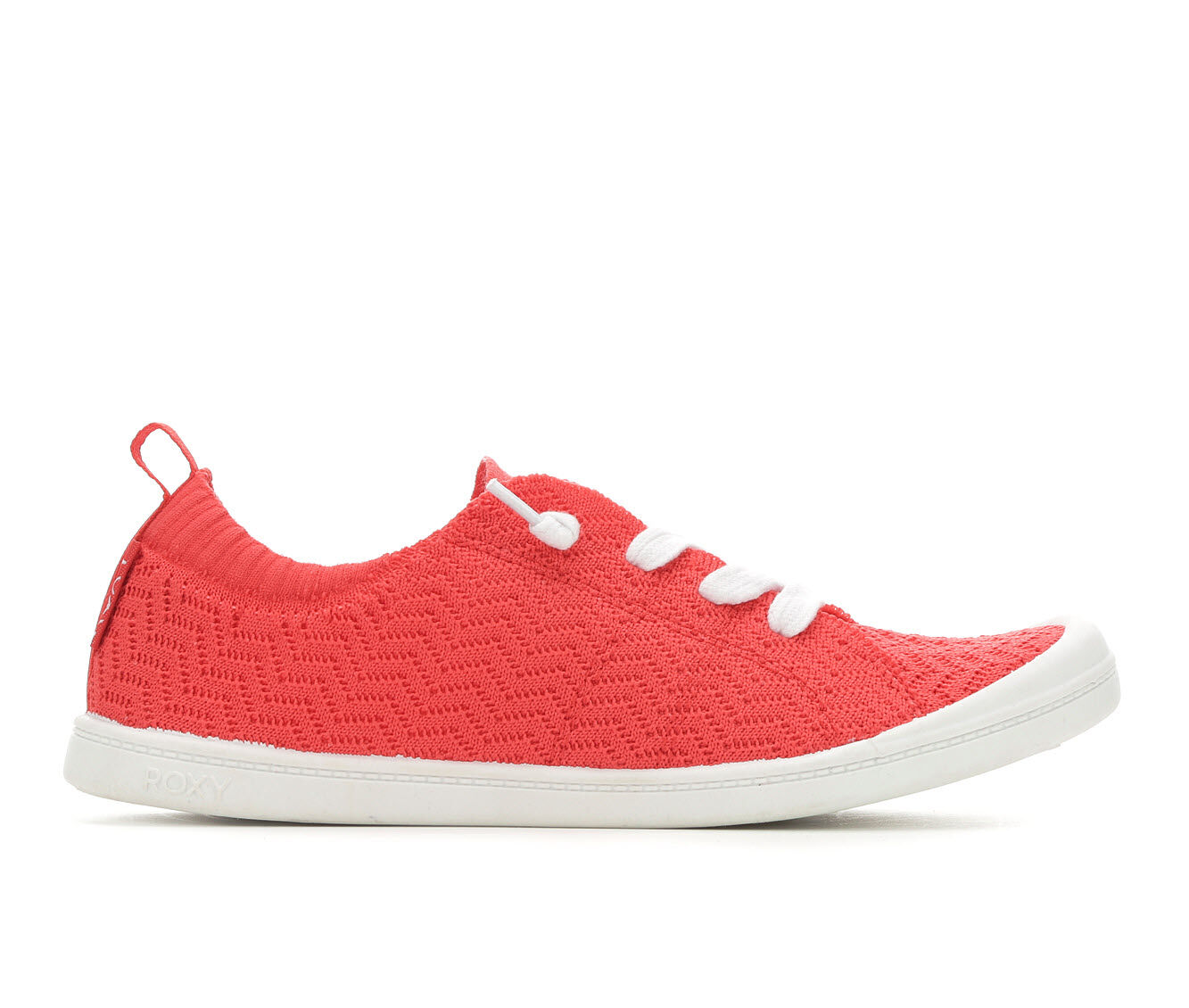 official Women's Roxy Bayshore Sneakers Red Knit