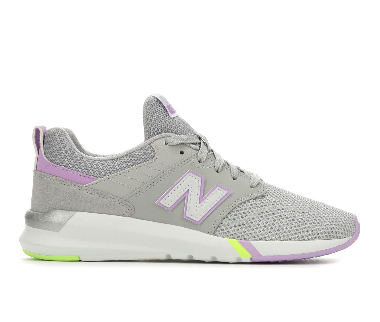 choose comfortable authentic Women's New Balance 009 Retro Sneakers Grey/Violet Glo