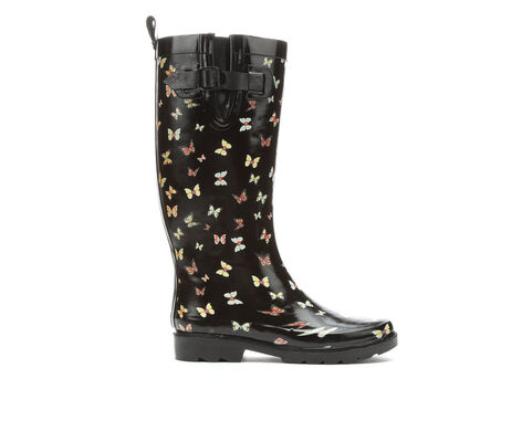 Women's Capelli New York Ethereal Butterflies Rain Boots