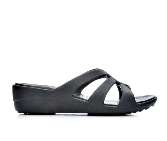 Women's Crocs Sanrah Strappy Wedge