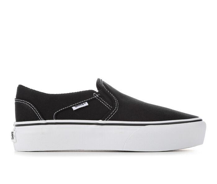 Women's Vans Asher Platform Skate Shoes