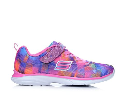 Girls' Skechers Spirit Sprintz- Rainbow Raz 10.5-6 Running Shoes