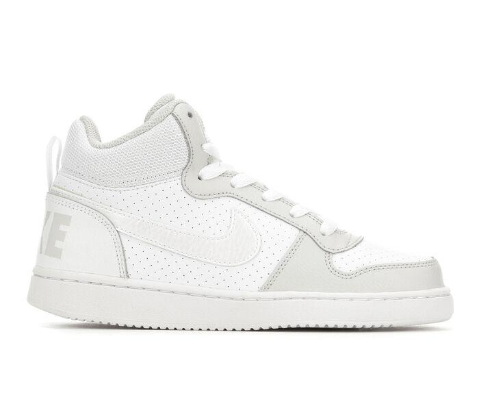 Girls' Nike Big Kid Court Borough Mid Basketball Shoes
