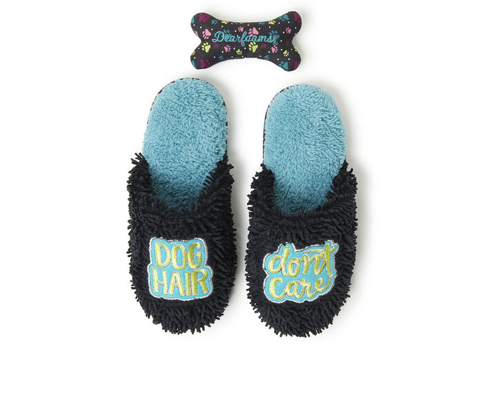 Dearfoams Novelty Scuff Slippers