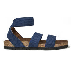 Women's White Mountain Harlequin Footbed Sandals