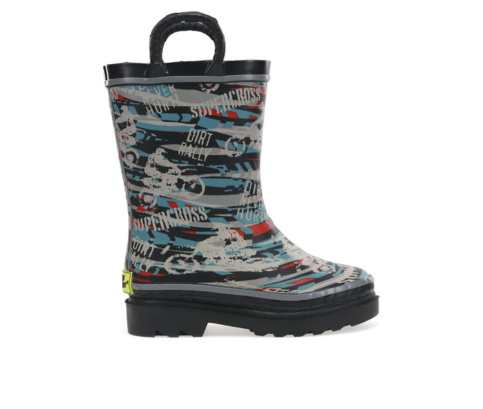 Boys' Western Chief Little Kid Supercross Rain Boots