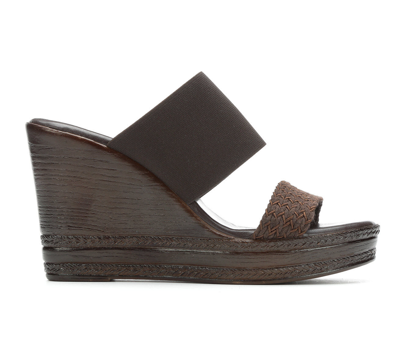 a large variety of Women's Italian Shoemakers Cammi Wedges Chocolate
