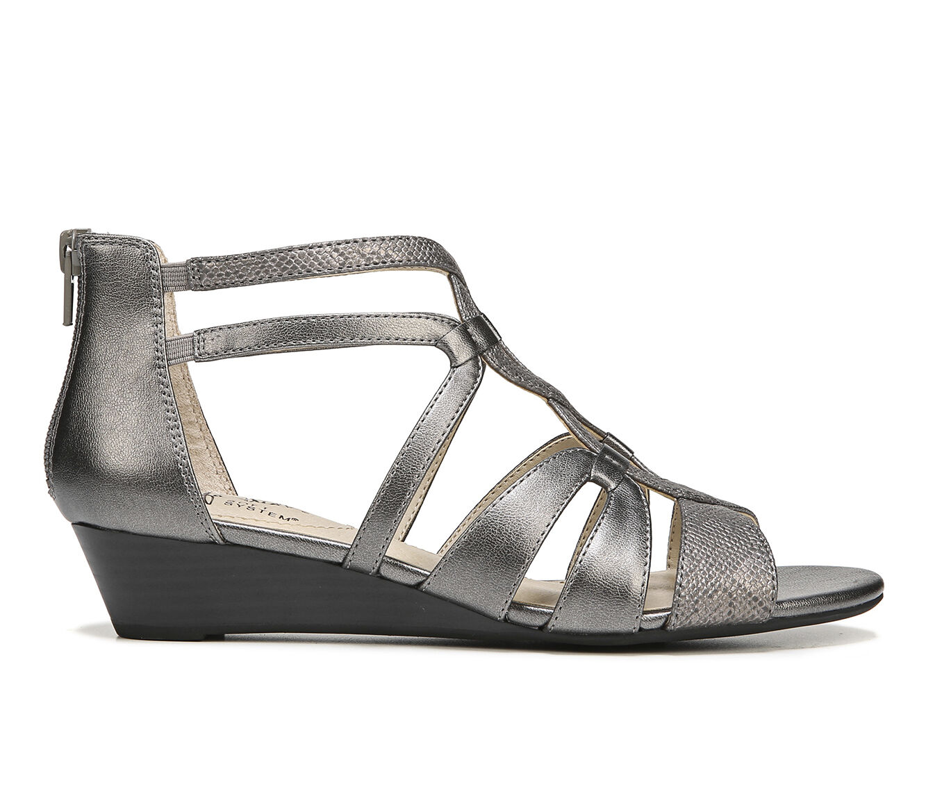 Online Cheap Women's LifeStride Yacht Sandals Pewter