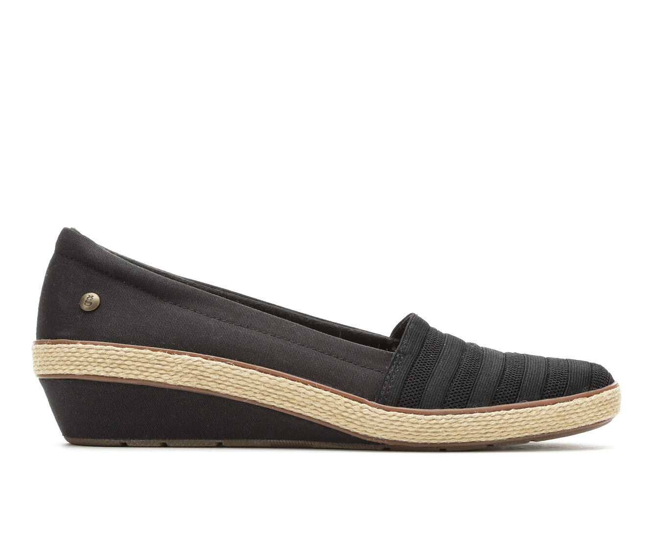 Adorable Women's Grasshoppers Blaise Wedges Black