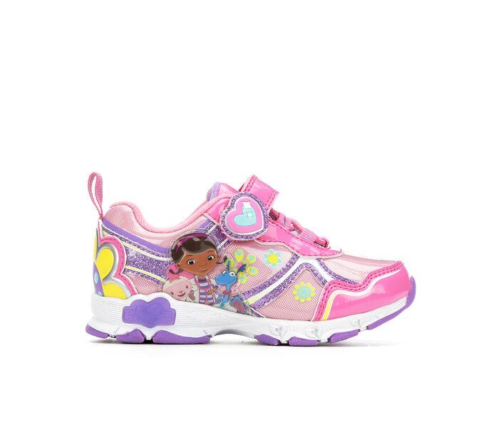 Girls' Disney Toddler & Little Kid Doc McStuffins 10 Light-Up Sneakers